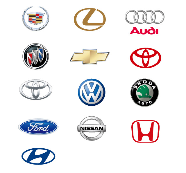 9 Photos of Car Brand Icons