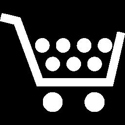 Cart Icon White