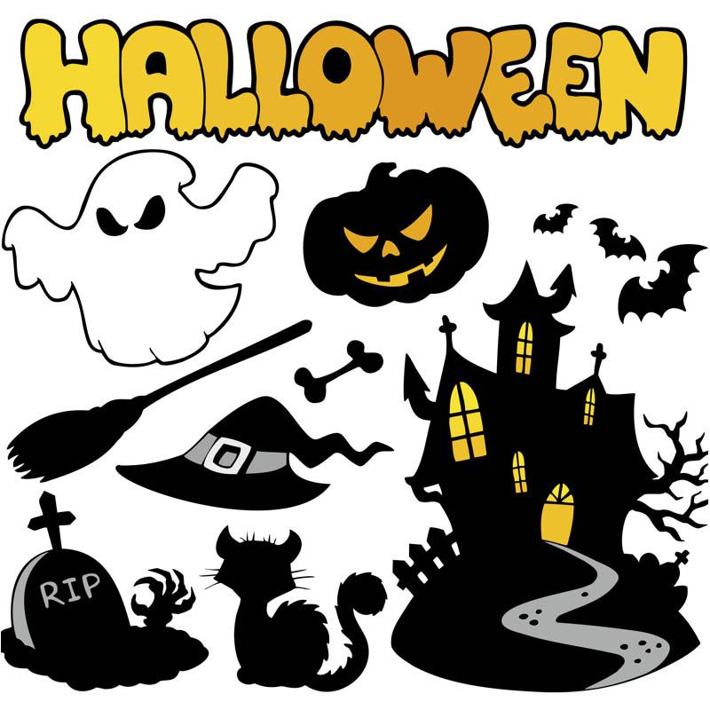 Cartoon Halloween Decorations
