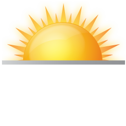 11 Sunrise Sunset Icon Images