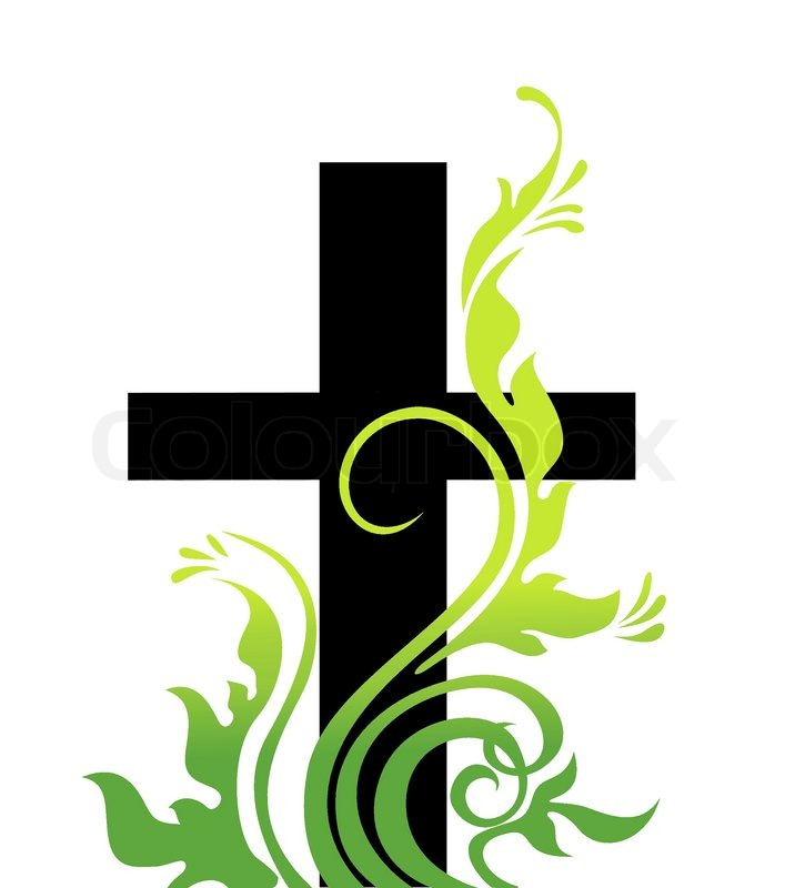 Catholic Easter Cross Clip Art