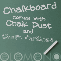 11 Handwritten Thick Chalk Font Images