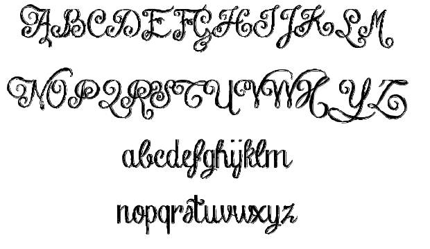 16 Hand Chalkboard Fonts Images
