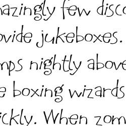 Chalkboard Funky Fonts