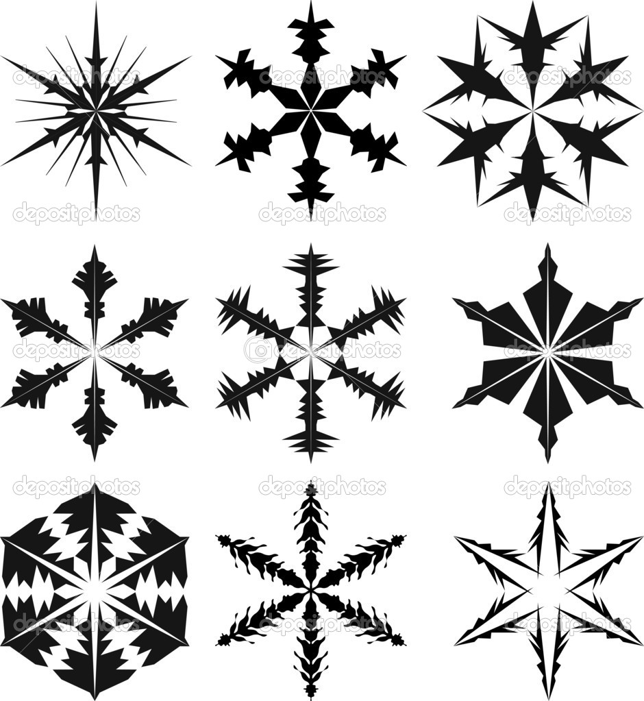 17 Vector Silhouette Christmas Ornament Images - Christmas ... Christmas Snowflake Silhouette