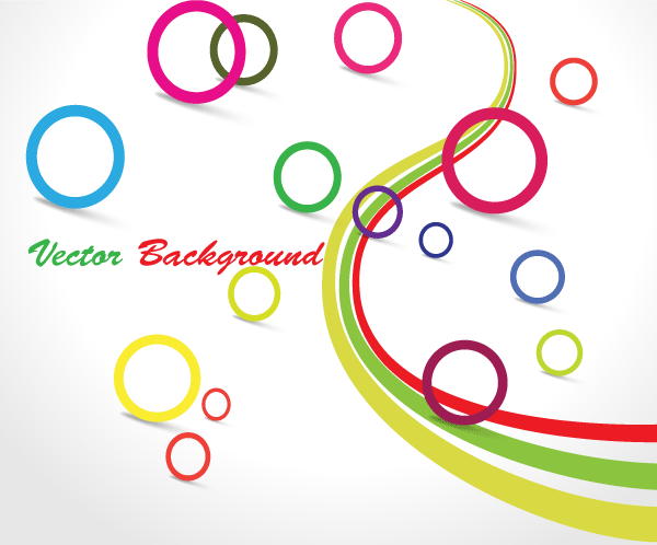 Circle Design Vector Graphics
