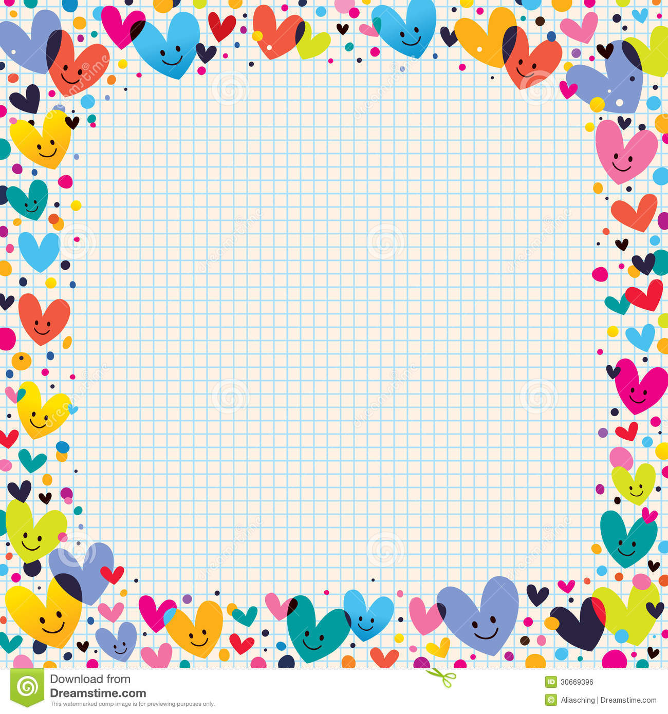 17 Colorful Border For Paper Designs Images Free Owl