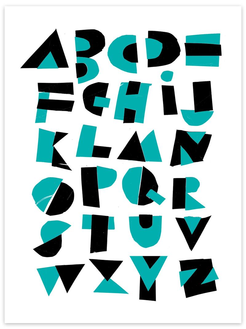 15 Cool Alphabet Fonts Images