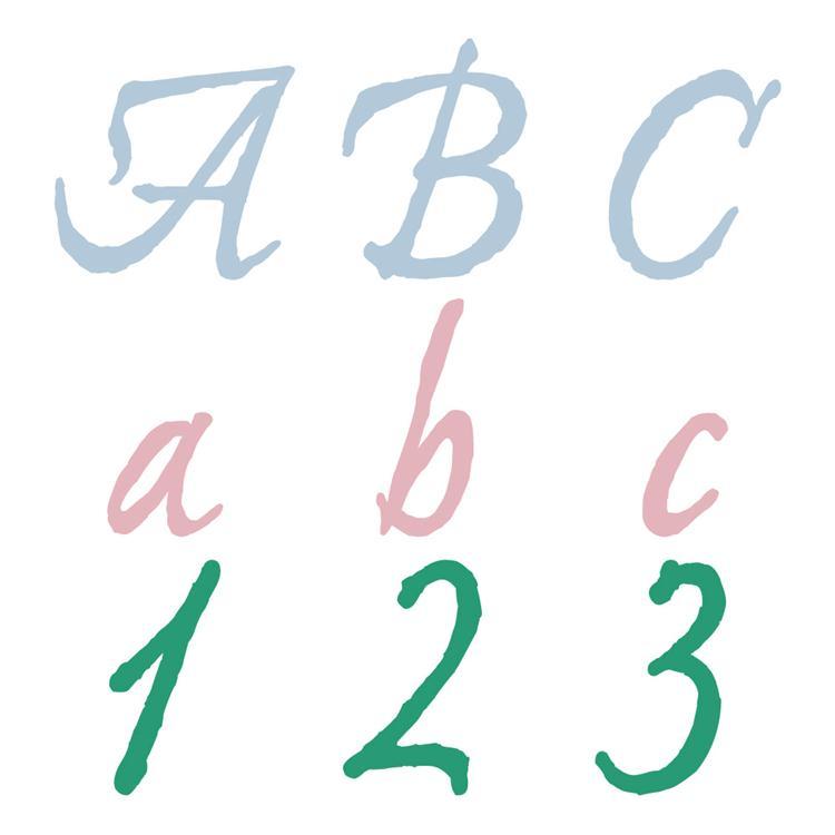 11 Cursive Cricut Font Cartridges Images