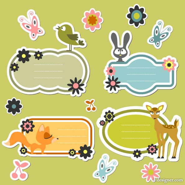 Cute Cartoon Vector Free Download