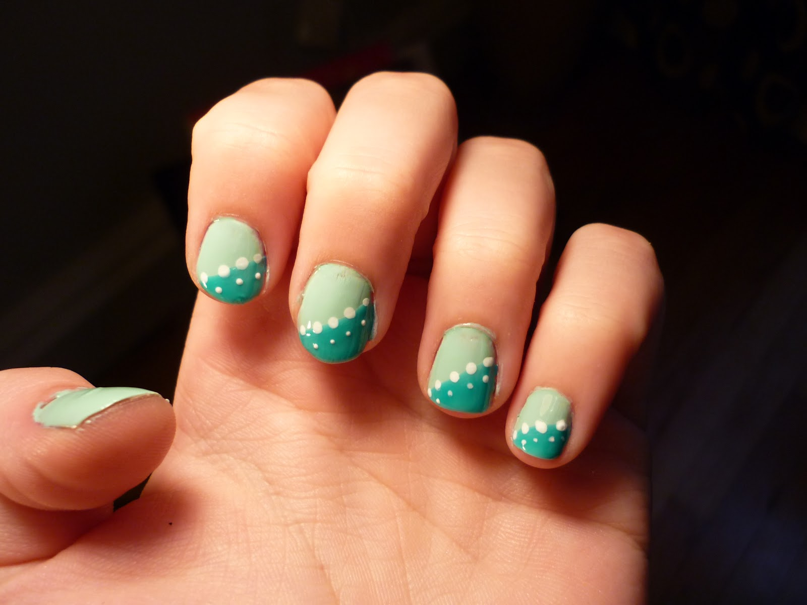13 Easy To Do Nail Art Designs Images