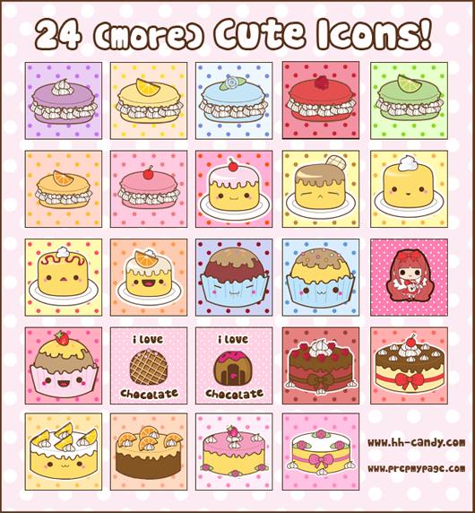 10 Cute Desktop Icons Images