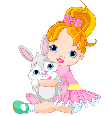 9 Vector Little Girls Back Images