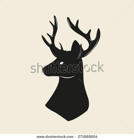 Deer Head Vector Art