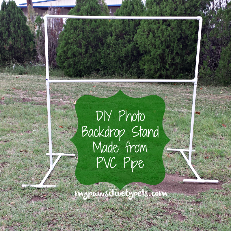 DIY PVC Photography Backdrop Stand