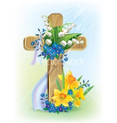 Easter Cross Clip Art