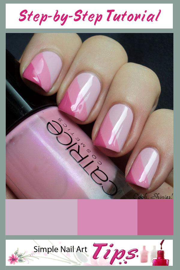 14 very simple nail designs polish images cute easy nail