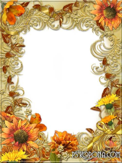 9 PSD Gold Border Template Free Images - Borders Photoshop ...