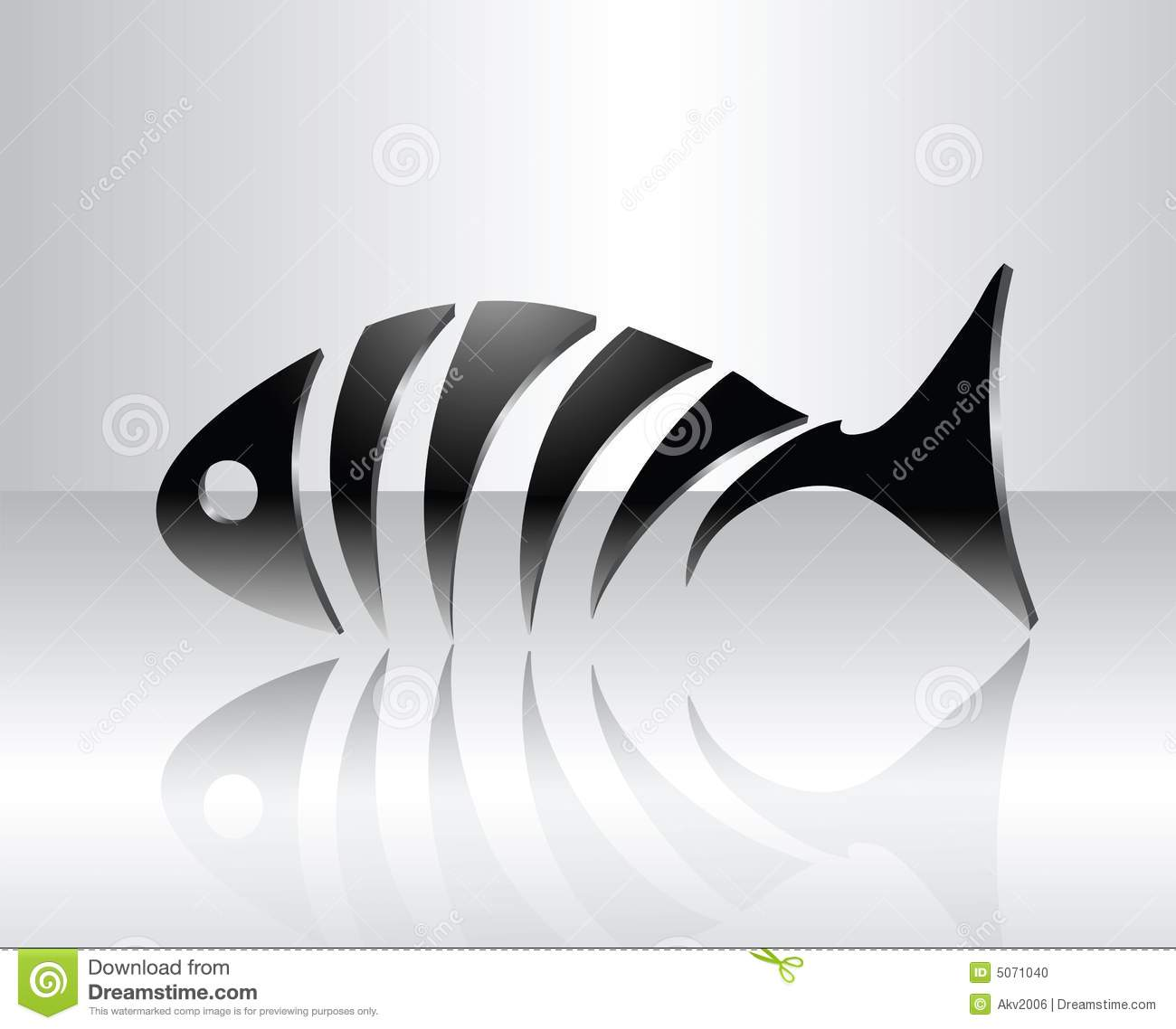 Fish Skeleton Design
