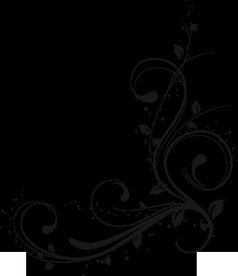 Floral Background Design Vector Graphics PNG