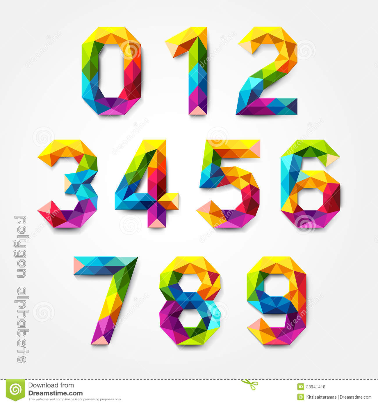 15 colorful number 0 fonts images free colorful fonts for Blueprint number