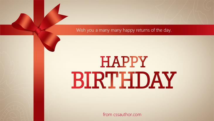 Free Birthday Card Greetings