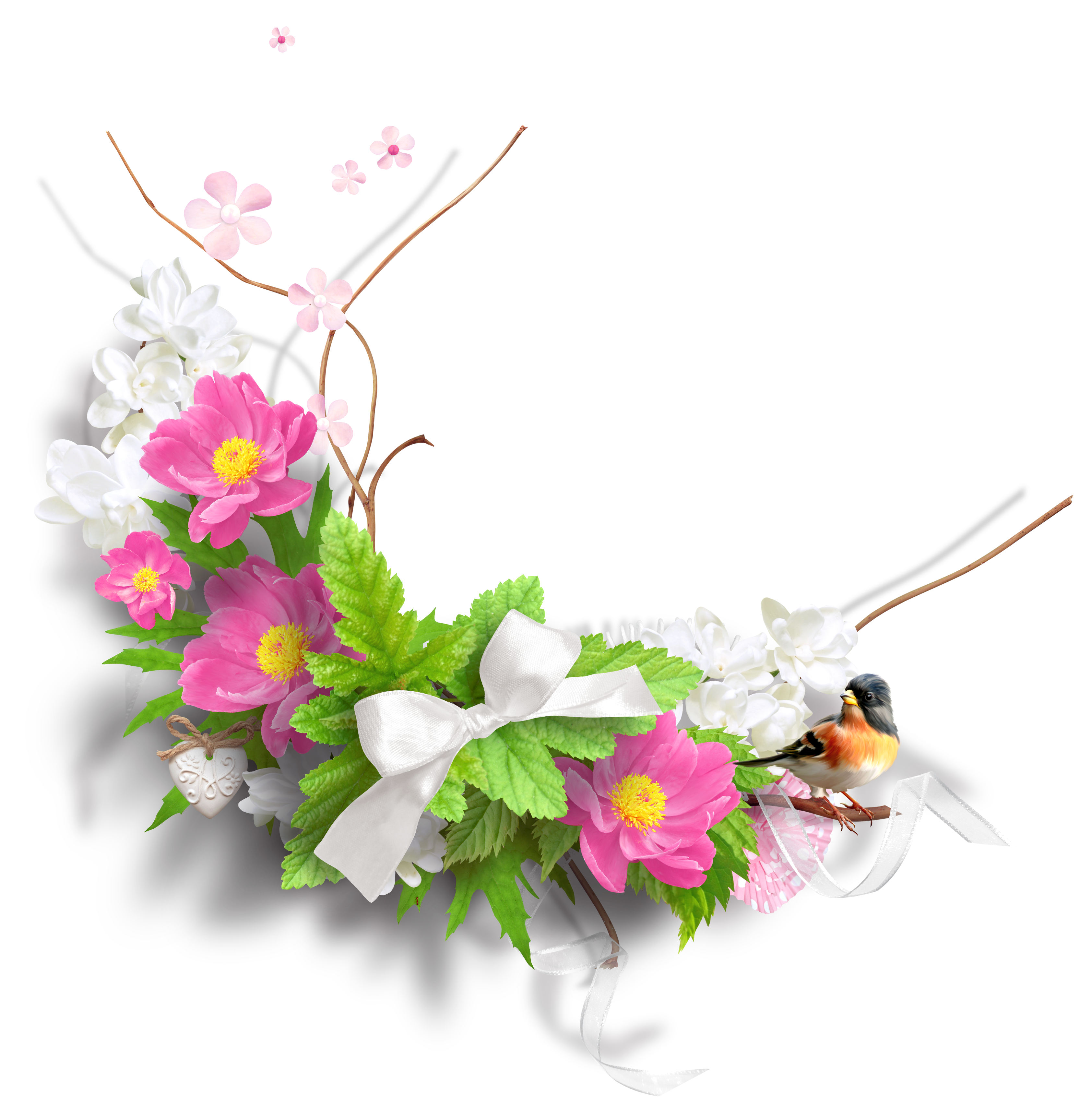 Free Clip Art Spring Flowers PNG
