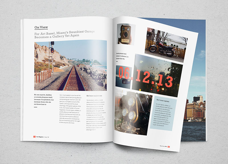 12 Open Free Magazine Mockup PSD Images
