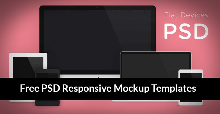 15 Mobile Devices Free PSD Templates Images