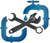 Free Plumbing Symbols Clip Art