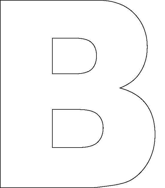 Free Printable Alphabet Letter B