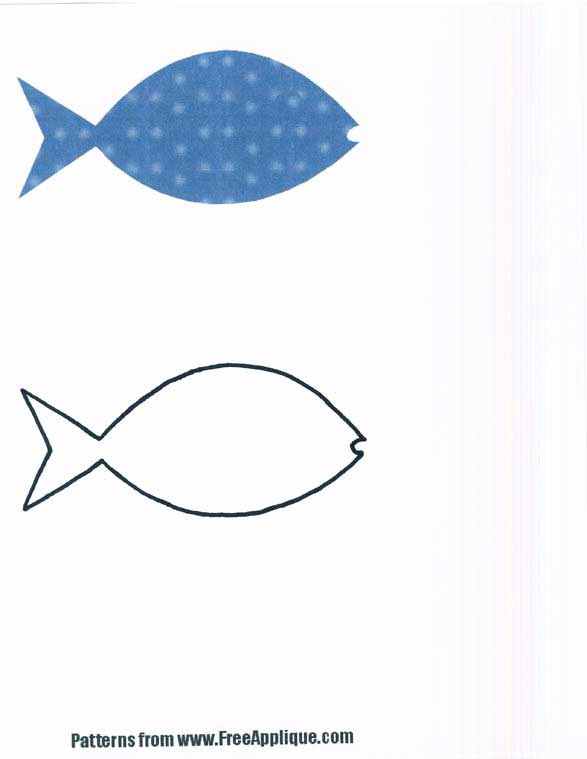 Free Printable Fish Patterns