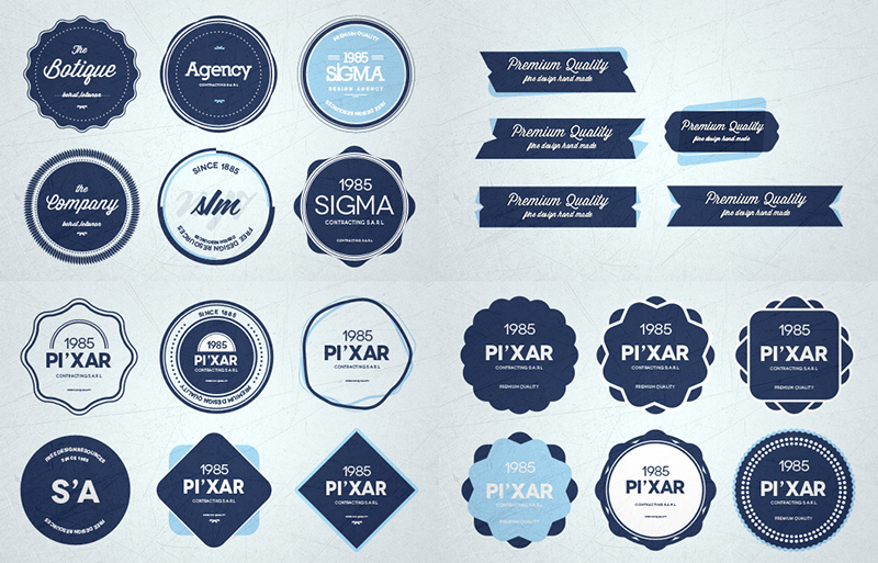 16 Free Psd Badges Images