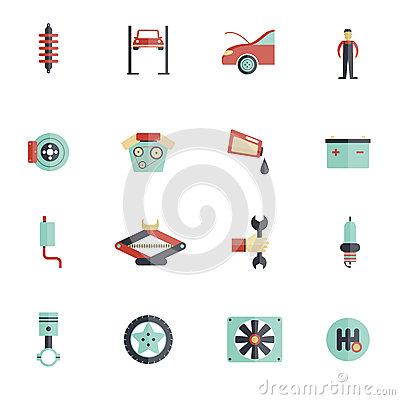 Free Vector Car Parts
