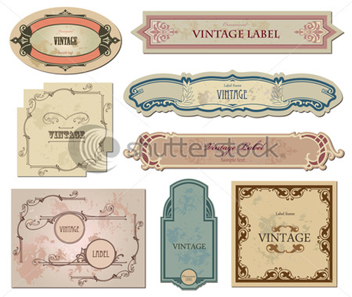 Free Vintage Label Templates