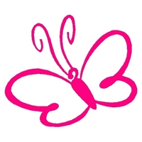 Girly Butterfly Icon
