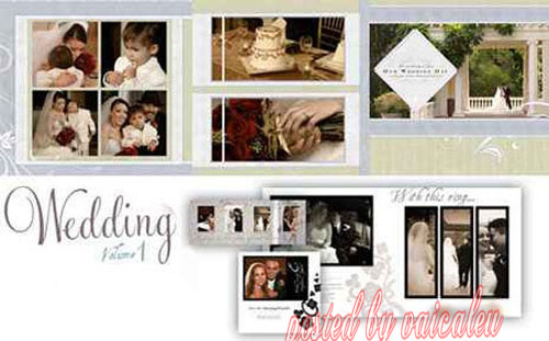 9 VN Wedding Templates Psd Images