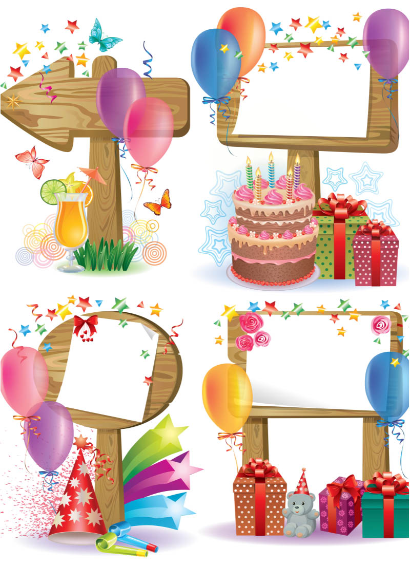 Happy Birthday Frame Clip Art