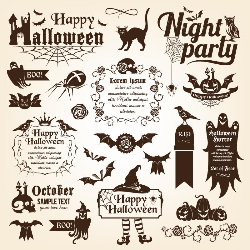 Happy Halloween Vector Free
