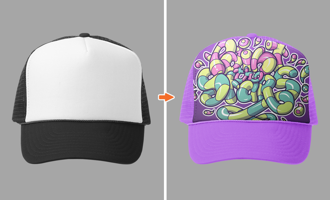 Hat Mockup Templates Free Photoshop