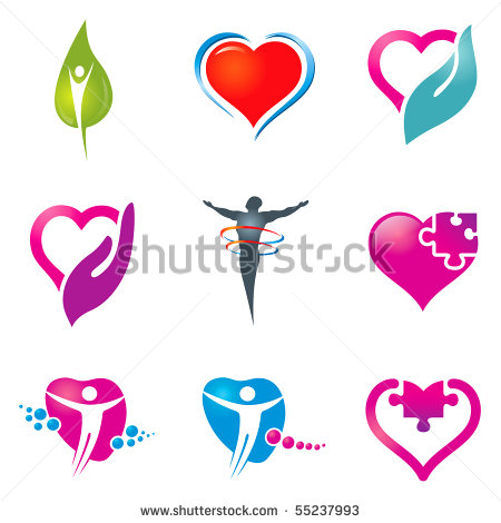 Health care vector icon with home health care logo design Home Health Care Logo Design  Cool Your Voice Patient Advocacy And  . Home Health Care Logo Design. Home Design Ideas