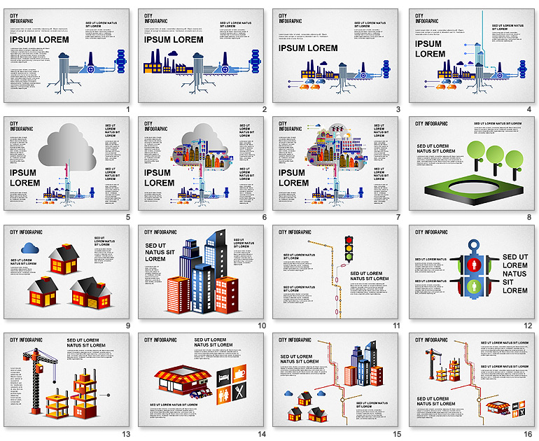 Infographic PowerPoint Template Download