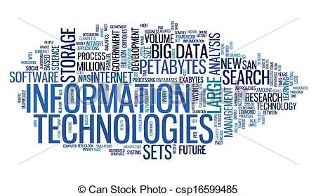 Information Technology Logo Clip Art