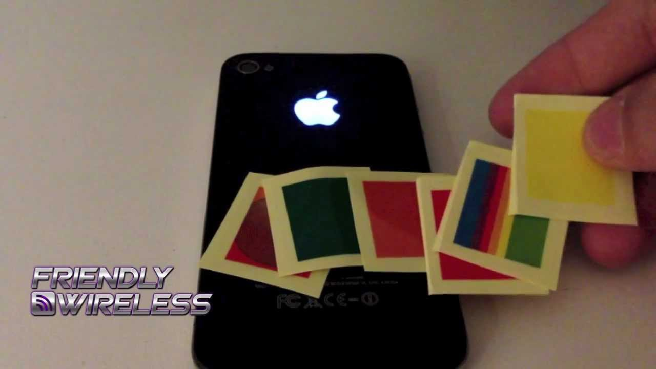 iPhone 4S Glowing Apple Logo