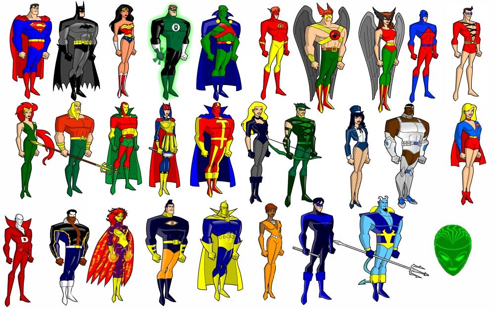 14 Icon Justice League DeviantART Images - Justice League ...