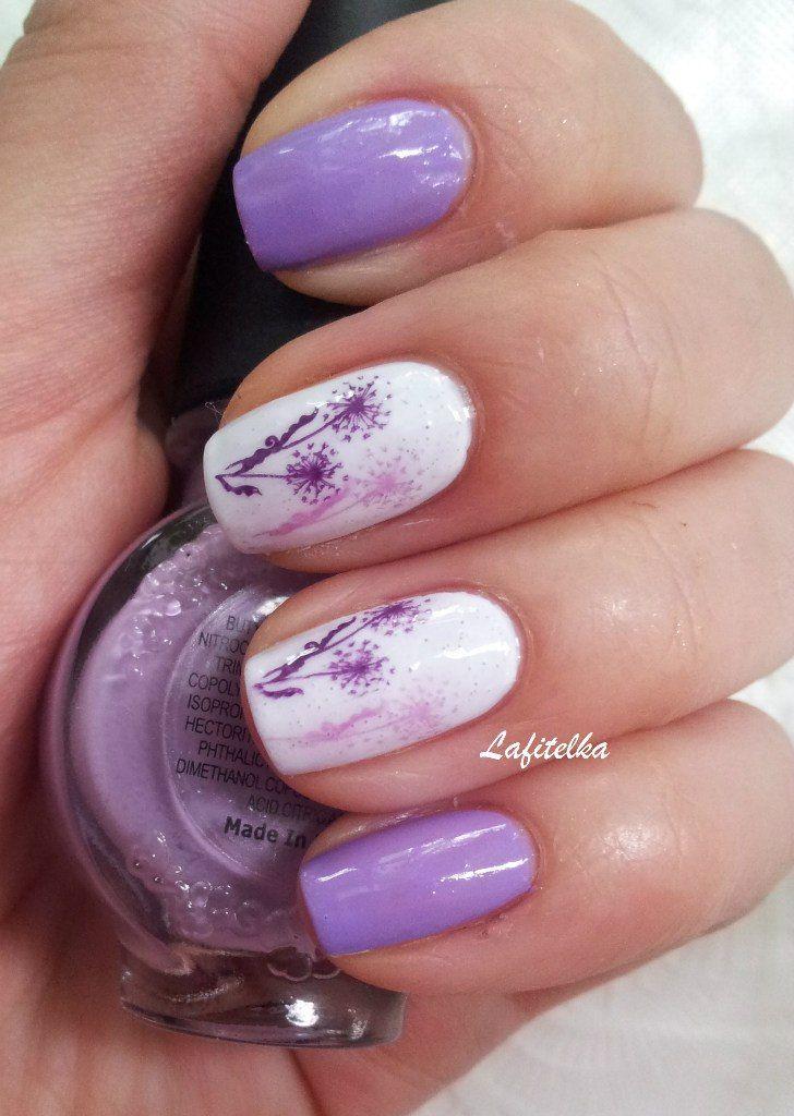 15 Lavender Nail Designs Images - Purple Nail Polish Designs ...