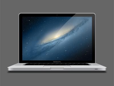 MacBook Pro Vector Templates