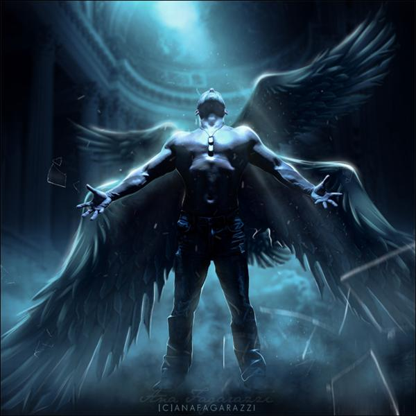 13 Male Archangel PSD Images