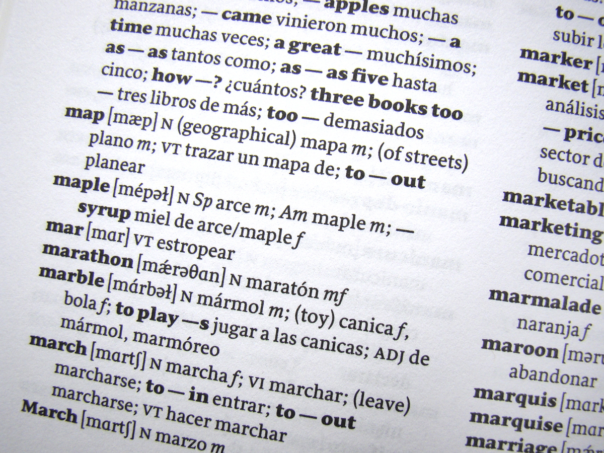 Mexican Spanish English Dictionary