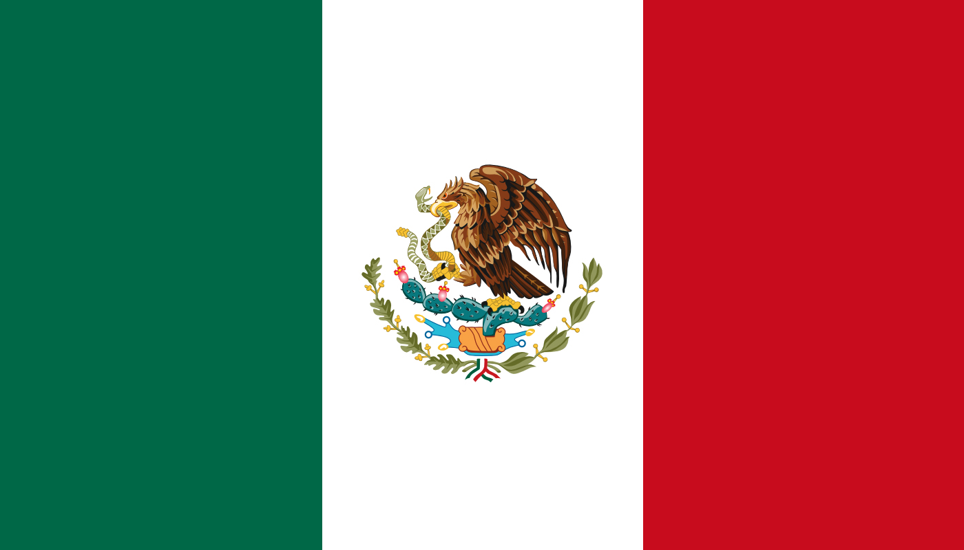 12 Mexico Flag Vector Images